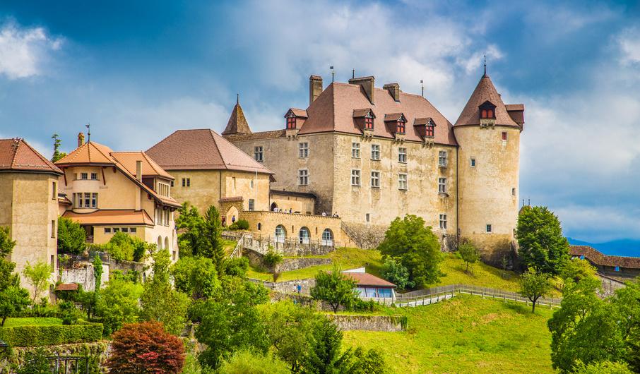 Déménagement à Bulle, Fribourg